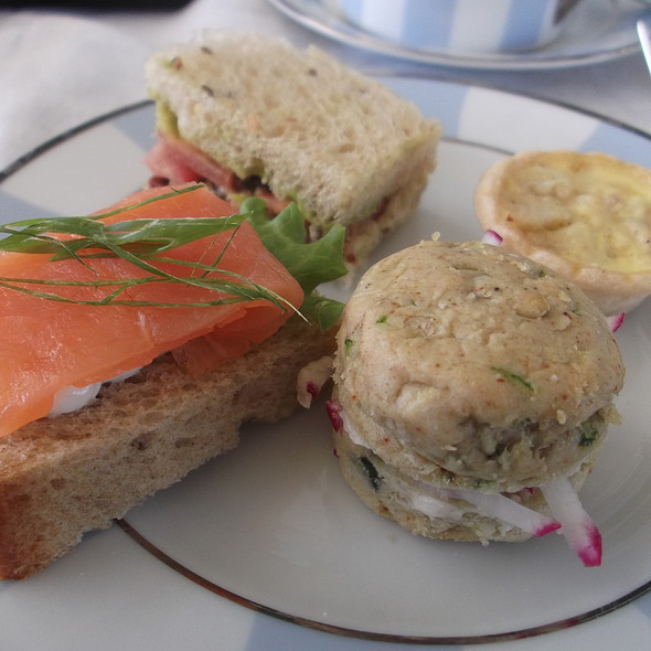 Tea Sandwiches And Savories - The Veranda at the Kahala Resort, Honolulu, HI