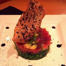 #1 Ahi Tuna Tartar - Midtown Cafe, Nashville, TN