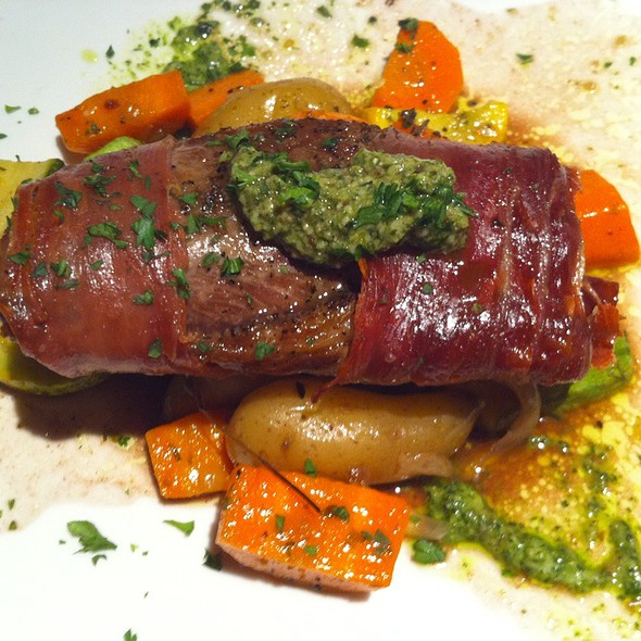 Saddle of Lamb - The French Gourmet, San Diego, CA