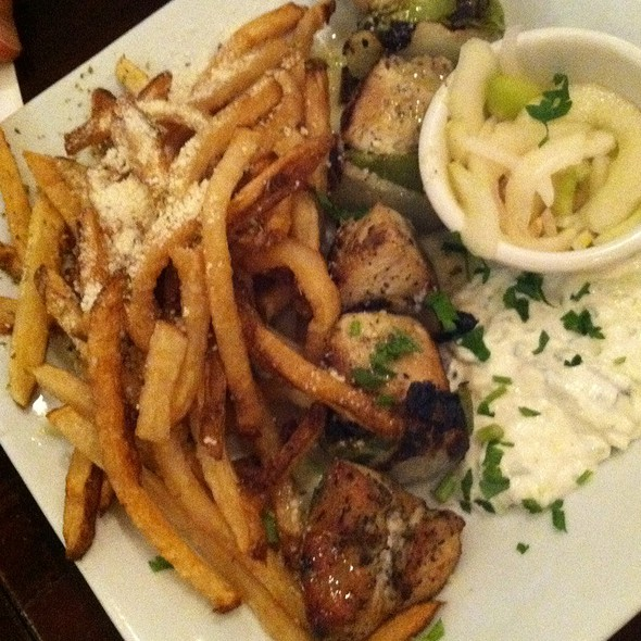 Chicken Souvlaki - Dafni Greek Taverna, New York, NY