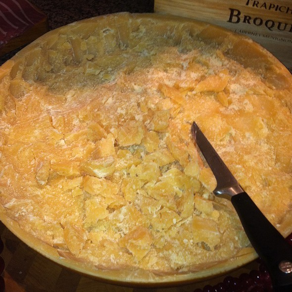 Aged Parmesan Cheese - Boi Na Braza - Cincinnati, Cincinnati, OH
