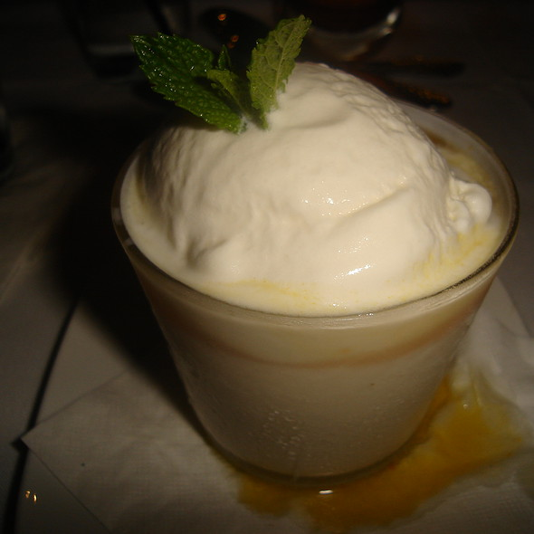 Passion Fruit Coconut Pana Cotta - Sawa, Coral Gables, FL