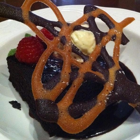 1886 Chocolate Cake - Driskill Grill - Driskill Hotel, Austin, TX