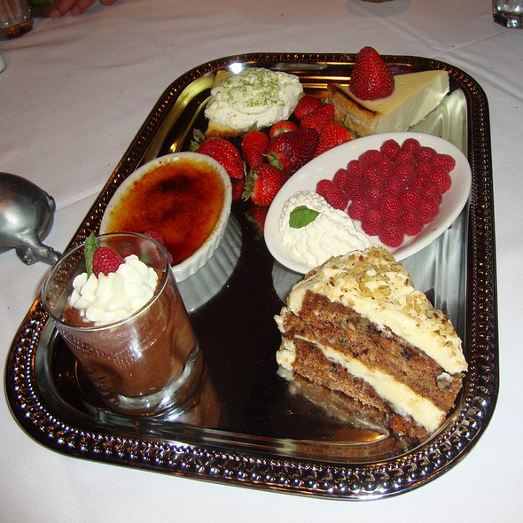 Dessert tray - Morton's The Steakhouse - Baltimore, Baltimore, MD