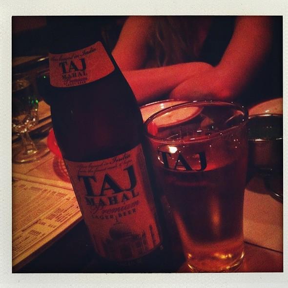Taj Mahal Beer - Taj Restaurant, New York, NY