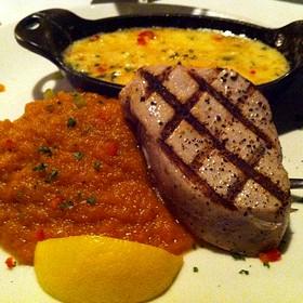 Pan Seared Big Eye Tuna - Splash Seafood Bar and Grill, Des Moines, IA