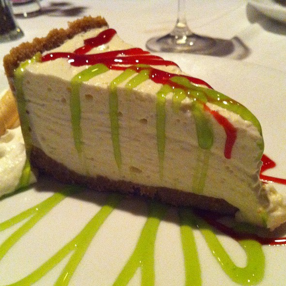 Key Lime Cheesecake - Splash Seafood Bar and Grill, Des Moines, IA