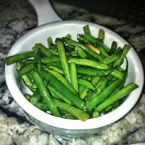 Green beans - Rye House, New York, NY