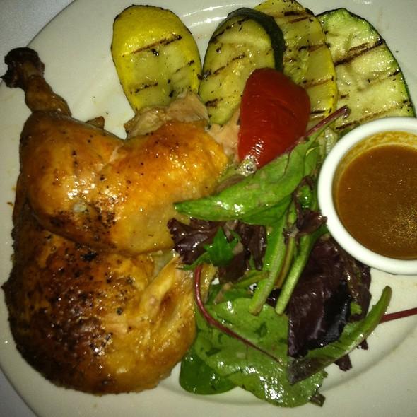 Free Range Amish Chicken - Les Halles, New York, NY