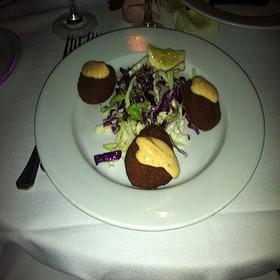 Shrimp & Crabcake Duo - Sur Restaurant, West Hollywood, CA