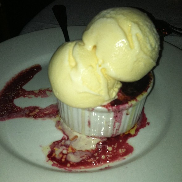 Blackberry Cobbler - Sur Restaurant, West Hollywood, CA