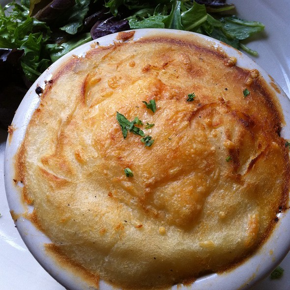Shepherd's Pie - Simon Pearce Restaurant, Quechee, VT