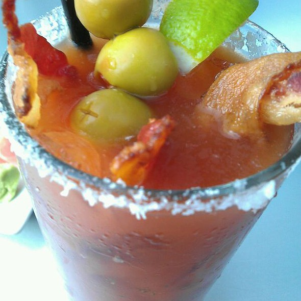 Bacon Bloody Mary - Sub Zero Vodka Bar, St. Louis, MO