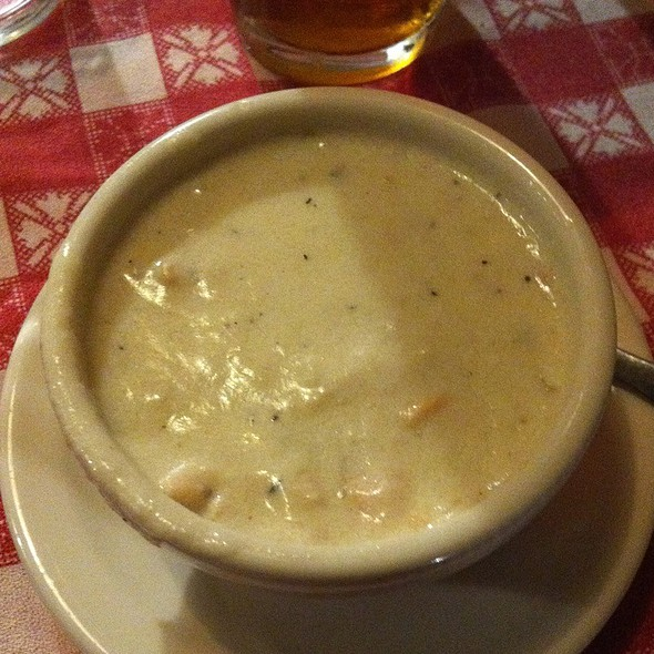 New England Clam Chowder - Durgin Park, Boston, MA