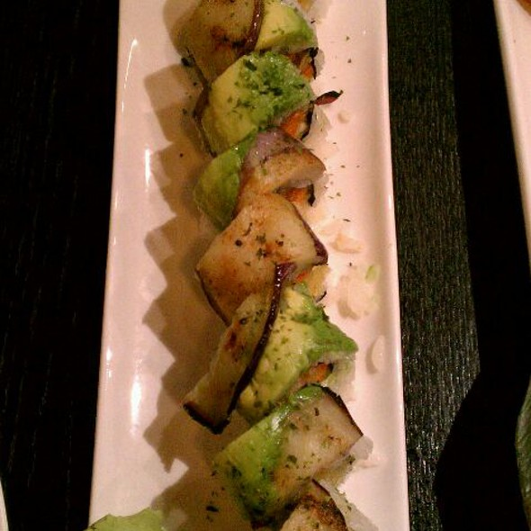 Vegetarian Dragon Roll - Wasabi & Ginger, San Francisco, CA