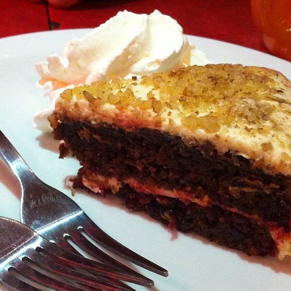 Chocolate Beet Cake - Blue Plate Diner, Edmonton, AB
