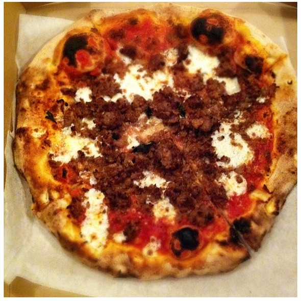 Italian Sausage (Salsiccia) Pizza - Stuzzi - Richmond, Richmond, VA