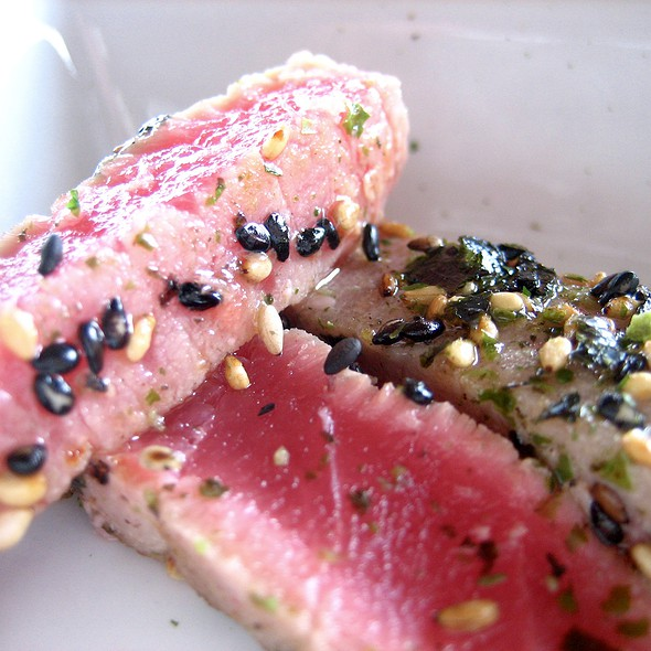 Seared Tuna - Peaks Restaurant, Palm Springs, CA