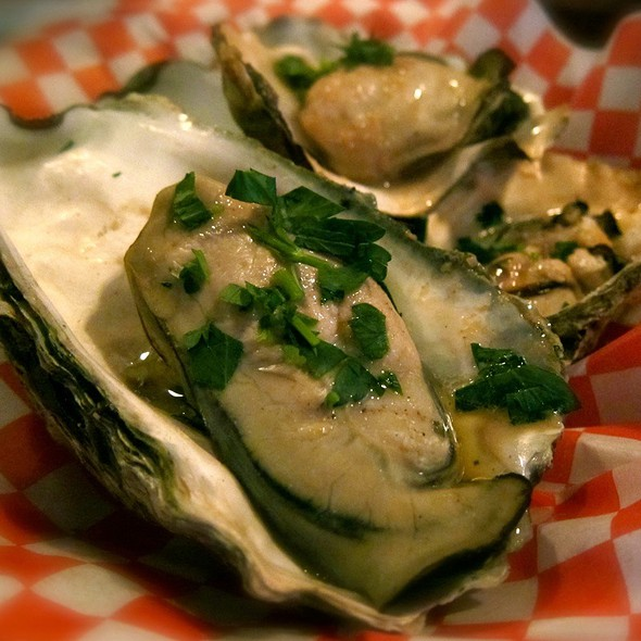 BBQ Oysters - Buckhorn Steakhouse, Winters, CA