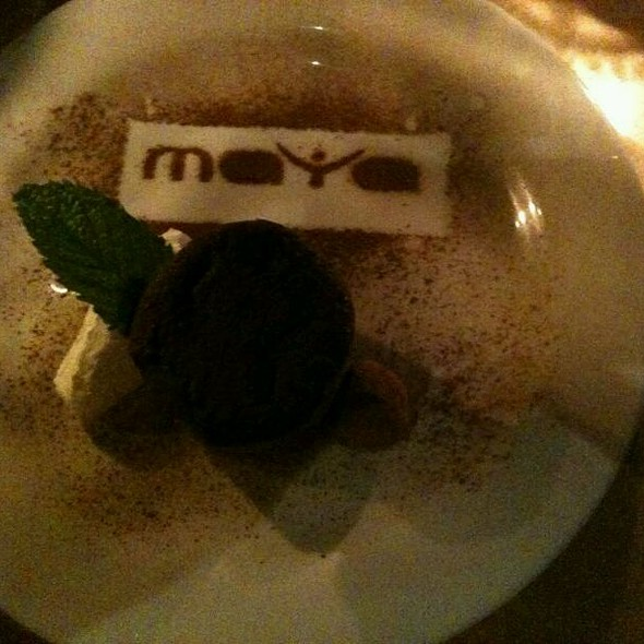 Chocolate Mousse With Home Made Oreo - Maya, Charlottesville, VA