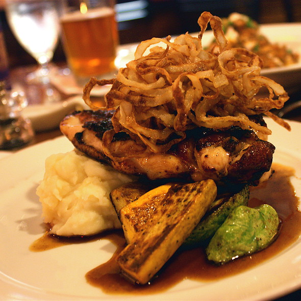 Honey Brined Petaluma Chicken Chop  - Seasons - Davis, Davis, CA