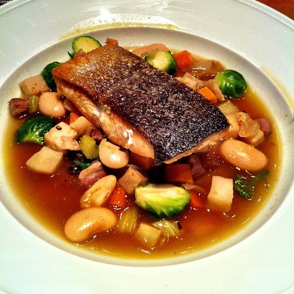 sauteed salmon - Dina Rata, New York, NY