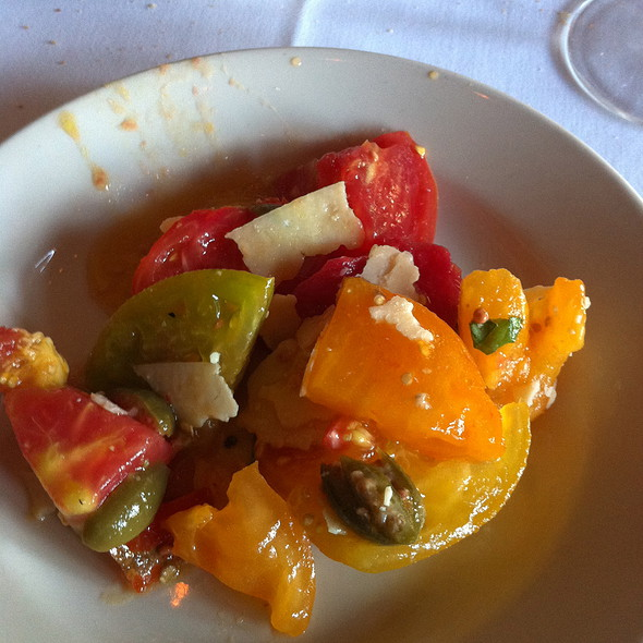 Tomato Salad - Il Fornaio - Walnut Creek, Walnut Creek, CA