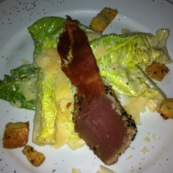 Heart Of Romaine W/ Ahi Tuna - Post Oak Grill, Houston, TX