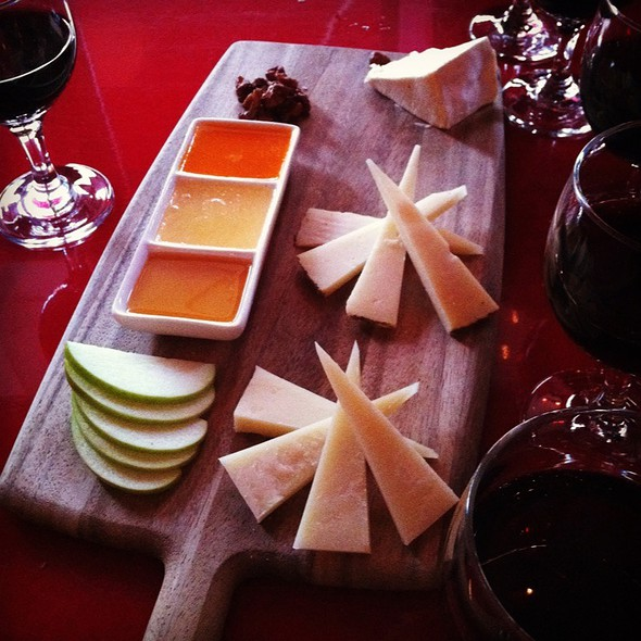Cheese Plate - Amelie, San Francisco, CA