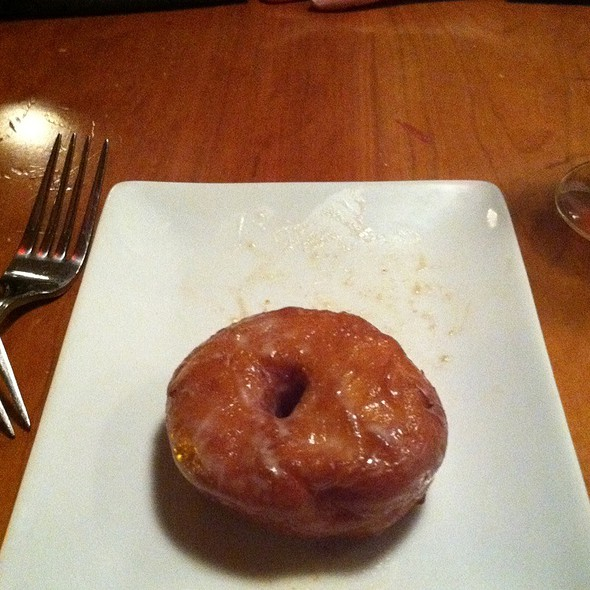 Crab Apple Doughnut - 51 Lincoln, Newton Highlands, MA