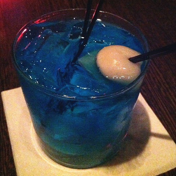 Lychee Blue - Niu Japanese Fusion Lounge, Chicago, IL