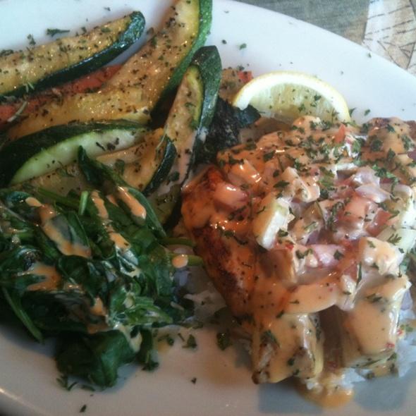 Mahi Mahi w/ Cucumber Salsa - Tidewater Grill - Charleston, Charleston, WV