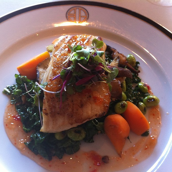 Sweet Chili Halibut - BG - Bergdorf Goodman, New York, NY