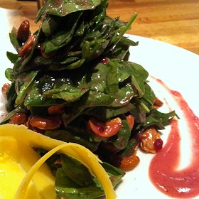 Spinach Salad - Erling Jensen The Restaurant, Memphis, TN