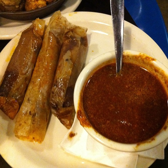 Tamales and Chili - Blues City Cafe, Memphis, TN