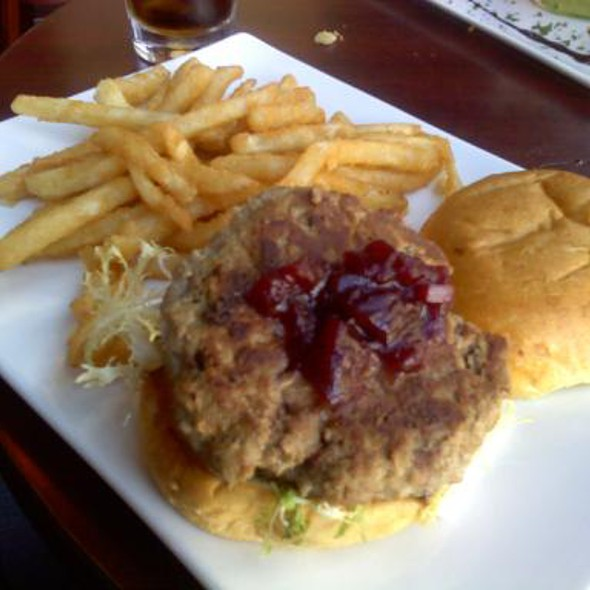 Turkey Burger And Fries - Arlington Rooftop Bar & Grill, Arlington, VA
