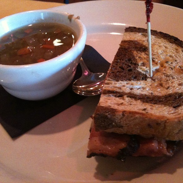 Reuben Sandwich And Lentil Soup - Backstreet Bistro, Palm Desert, CA