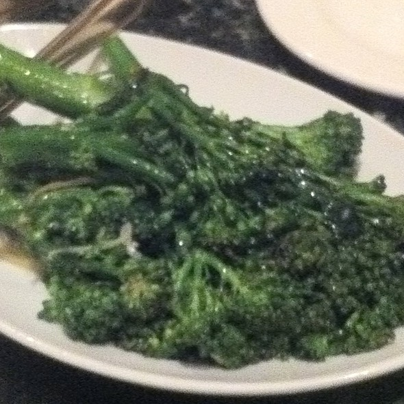 Braised Broccolini - Fiorenzo Italian Steakhouse, Orlando, FL