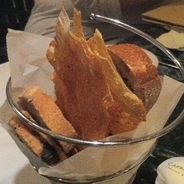 Bread Appetizer - Fiorenzo Italian Steakhouse, Orlando, FL