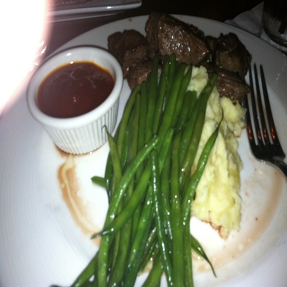 Bourbon Glazed Steak Tips - M.J. O'Connors Waterfront, Boston, MA