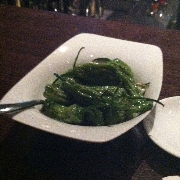 Shishito Peppers With Sea Salt - Lincoln Ristorante, New York, NY