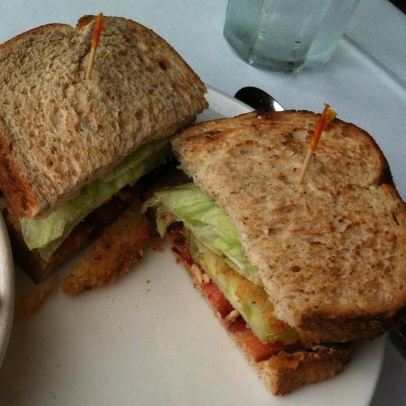 Fried Green Tomato BLT - Dressler's Restaurant - Metropolitan (Midtown), Charlotte, NC