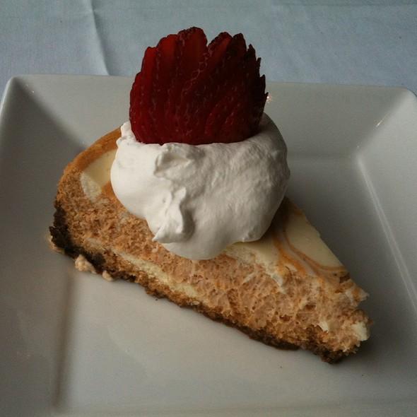 Pumpkin Cheesecake - Dressler's Restaurant - Metropolitan (Midtown), Charlotte, NC
