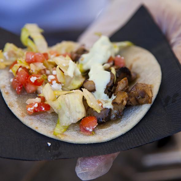 Al Pastor / Mushroom Tacos - T. Cook's at Royal Palms Resort and Spa, Phoenix, AZ