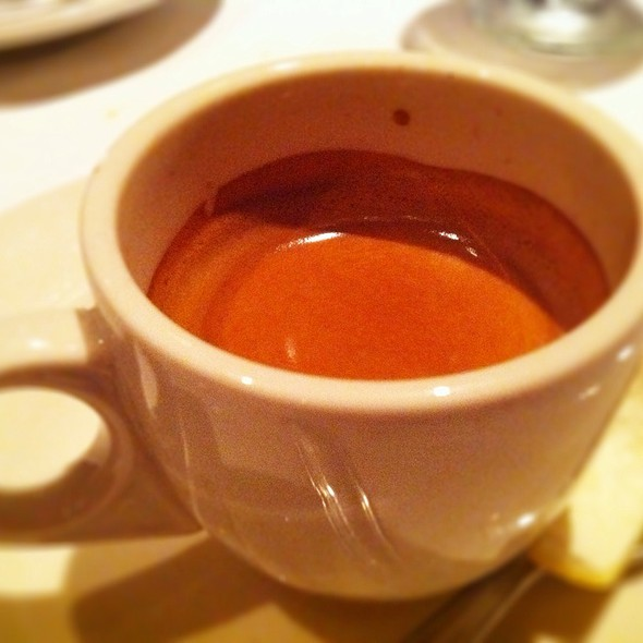 Espresso - Rossini's Restaurant, New York, NY