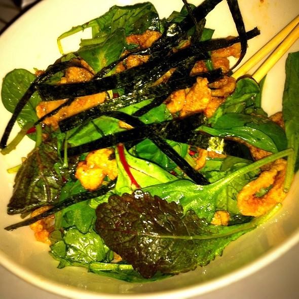 Crispy Calamari Salad - Dragonfly at Hotel ZaZa, Dallas, TX