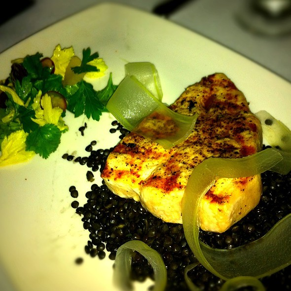 Grilled Swordfish - Dragonfly at Hotel ZaZa, Dallas, TX