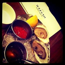 Island Creek oysters - Island Creek Oyster Bar, Boston, MA