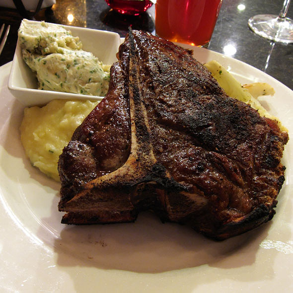porterhouse steak - Matt's Red Rooster Grill, Flemington, NJ