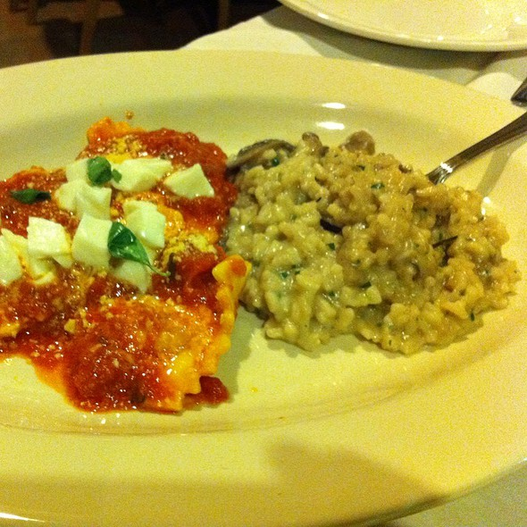 mushroom risotto - Franco Italian Bistro, Wellington, FL
